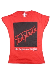 Fangtasia Red Female Tshirt Xl | Merchandise