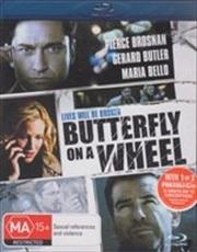 Butterfly On A Wheel   Blu-ray