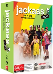 Jackass - The Complete Collection - Limited Edition Boxset | DVD