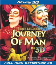Cirque Du Soleil Presents Journey Of Man (3D Blu-ray)