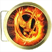 Belt Buckle Mockingjay
