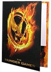 Hunger Games - Folder Burning Mockingjay Poster | Merchandise