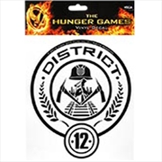 Hunger Games Laptop Decals District 12 | Merchandise