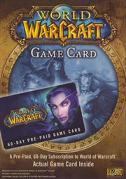 World of Warcraft Game Card (60 Day Subscription)