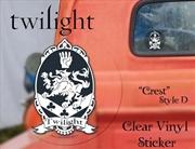 Cullen Crest (Style D) Vinyl Sticker | Merchandise