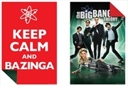 Big Bang Theory: Keep Calm / Futuristic