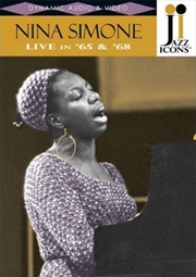 Jazz Icons: Nina Simone Live | DVD