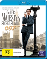 On Her Majesty's Secret Service (007) | Blu-ray