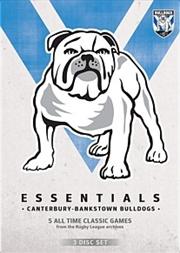 NRL Essentials: Canterbury Bankstown Bulldogs | DVD