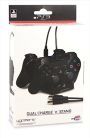 4gamers Dual Charge N Stand | PlayStation 3