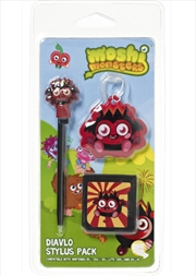 Moshi Monsters- Diavlo Stylus Pack | Nintendo DS