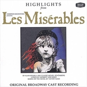 Les Miserables: Highlights from the Original Broadway Cast Recording (Import) | CD