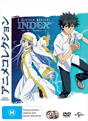 A Certain Magical Index - Season 1 - Part 1 | DVD