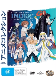 A Certain Magical Index - Season 1 - Part 2 | DVD