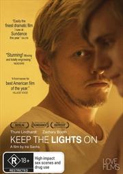 Keep The Lights On   DVD