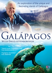 David Attenborough: Galapagos | DVD