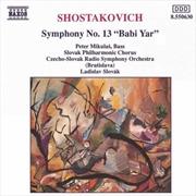 Shostakovich: Symphony N13 Babi Yar (Import)