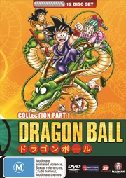 Dragon Ball; Complete Collection Part 1 (Sagas 1-6)