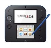 Nintendo 2DS Console Black Blue