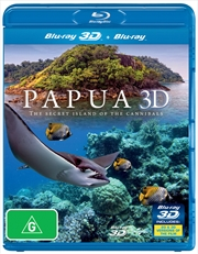Papua 3D: Secret Island Of The Cannibals | Blu-ray 3D