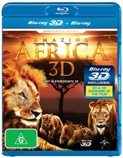 Amazing Africa 3D | Blu-ray 3D