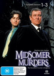 Midsomer Murders - Season 1-3 | DVD
