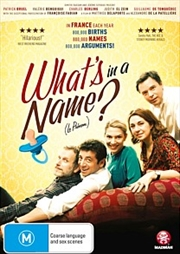 What's In A Name? | DVD