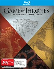 Game Of Thrones; S3 (EXCLUSIVE ARTWORK) | Blu-ray