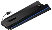 Licensed 4Gamers Vertical Stand and USB Hub | PlayStation 4