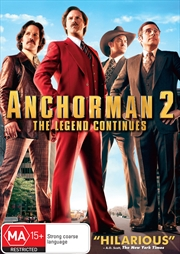 Anchorman 2- The Legend Continues | DVD