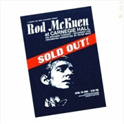 Sold Out At Carnegie Hall