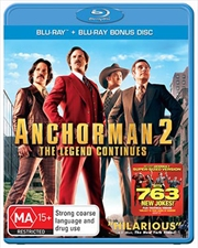 Anchorman 2- The Legend Continues | Blu-ray