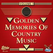 Golden Memories Of Country 1  | CD