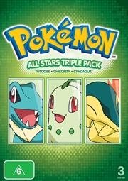 Pokemon Allstars: Triple Pack 2 | DVD