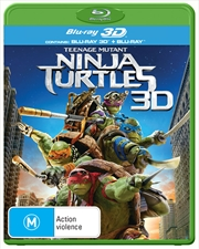 Teenage Mutant Ninja Turtles 3D | Blu-ray 3D