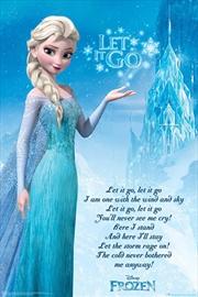 Let It Go Chorus Poster