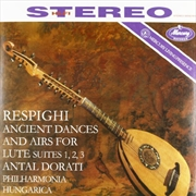 Ancient Airs And Dances For Lute Suites 1-3 | Vinyl