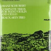 Complete Trios For Piano Violin & Cello | Vinyl