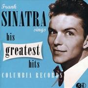 Sinatra Sings His Greatest Hits | CD