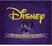Disney: The Music Behind The Magic  | CD