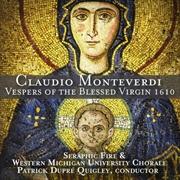 Vespers Of The Blessed Virgin | CD
