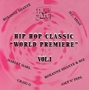Hip Hop Classic World Premiere Vol 1 | CD