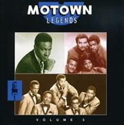 Motown Legends: Vol 3 | CD