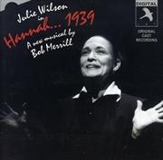 Hannah 1939 | CD