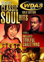 WDAS 105 3 Fm Classic Soul Hits (Include Soulful Christmas) | CD