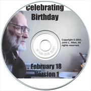 Celebrating A Birthday | CD