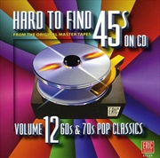 Hard To Find 45s: Vol12 60s An | CD