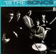 Here Are The Sonics   Vinyl