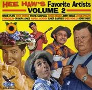 Hee Haws Favorite Artists Vol 2 | CD