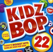 Kidz Bop 22   CD